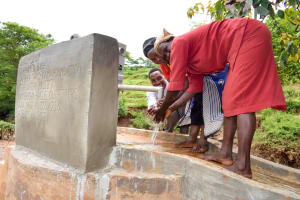 The Water Project: Kathuni Community A -  Clean Water