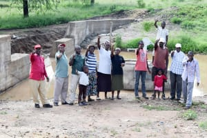 The Water Project: Kivandini Community A -  Finished Well