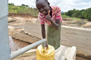 The Water Project: Kivandini Community A -  Clean Water