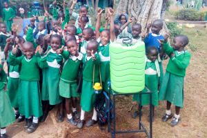 The Water Project: Erusui Girls Primary School -  Handwashing Stations