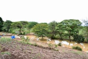 The Water Project: Kivandini Community -  Sand Dam Construction