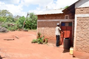 The Water Project: Mbuuni Community D -  Mbalu Household