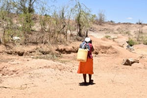 The Water Project: Katung'uli Community B -  Carrying Water