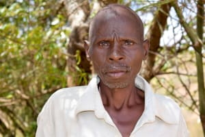 The Water Project: Kyetonye Community -  Ezekiel Mutiso