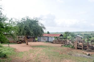 The Water Project: Maluvyu Community C -  Household Environment
