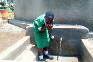 The Water Project: Erusui Girls Primary School -  Clean Water