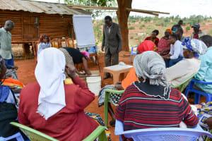 The Water Project: Kathuni Community -  Training