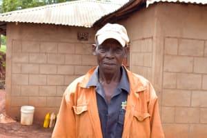The Water Project: Mbakoni Community -  Kyambasa Shg Member Musinga Musau