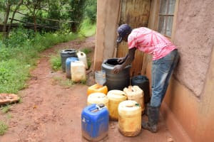 The Water Project: Mbakoni Community A -  Water Storage