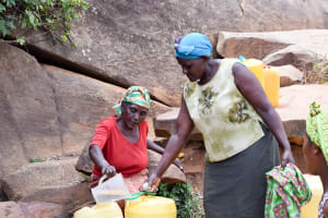 The Water Project: Utuneni Community -  Sieving Out The Dirt