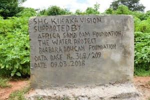The Water Project: Kitandini Community A -  Finished Well