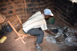 The Water Project: Mbuuni Community D -  Mr Mbalu In His Kitchen