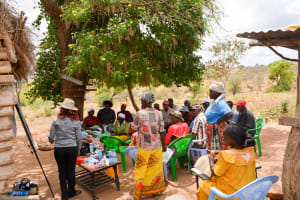 The Water Project: Maluvyu Community B -  Action Plan Review