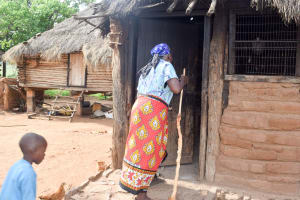 The Water Project: Maluvyu Community C -  Kitchen