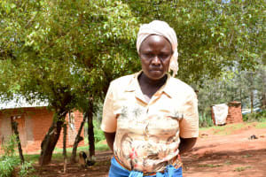 The Water Project: Kitandini Community A -  Kikaka Member Rachael Daniel