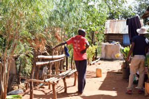 The Water Project: Masola Community A -  Interviewing The Mumbua Household