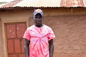 The Water Project: Mbakoni Community A -  Kyambasa Shg Member Mwongela Makau
