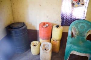 The Water Project: Kyetonye Community A -  Water Storage