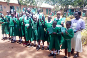The Water Project: Erusui Girls Primary School -  Training