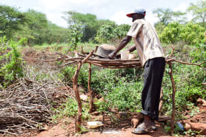 The Water Project: Mbuuni Community D -  Mbalu Household Uses A Dish Rack