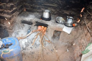 The Water Project: Syatu Community A -  Boiling Water In The Kitchen