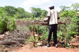The Water Project: Mbuuni Community E -  Using A Dish Rack