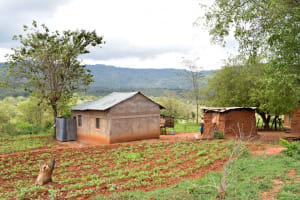 The Water Project: Kitandini Community A -  Household Environment