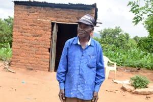 The Water Project: Kivandini Community A -  Benard Mbithi