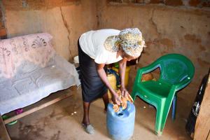 The Water Project: Katung'uli Community C -  Water Container