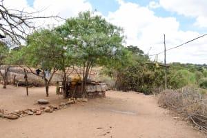 The Water Project: Mbau Community A -  Mwangangi Household