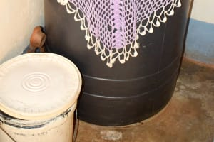 The Water Project: Masola Community A -  Drinking Water In Parlor