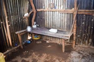The Water Project: Katuluni Community C -  Ngei Kitchen