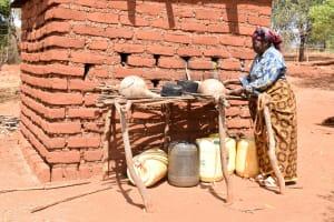 The Water Project: Ilandi Community A -  Dish Rack