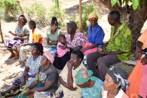 The Water Project: Utuneni Community A -  Self Help Group Members