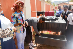 The Water Project: Kaani Lions Secondary School -  Handwashing Training