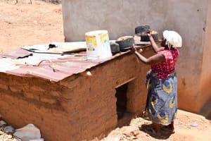 The Water Project: Katung'uli Community B -  Drying Pots