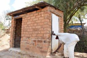 The Water Project: Kyetonye Community -  Latrine
