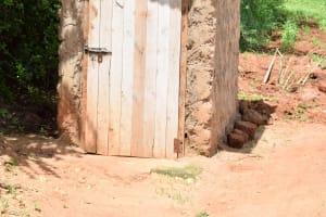 The Water Project: Mbuuni Community E -  Latrine