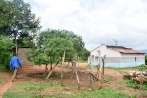 The Water Project: Kivandini Community A -  Mbithi Household
