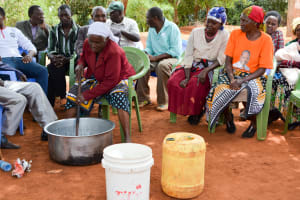The Water Project: Kathuni Community A -  Training