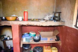 The Water Project: Masola Community A -  Mumbua Kitchen