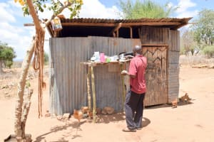 The Water Project: Katuluni Community C -  Using A Dish Rack