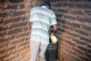The Water Project: Syatu Community A -  Water Storage
