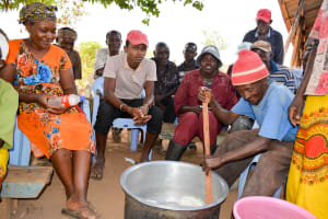 The Water Project: Maluvyu Community C -  Training On Making Soap