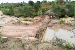 The Water Project: Katung'uli Community B -  Sand Dam Construction