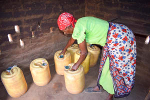 The Water Project: Katuluni Community B -  Water Storage Containers