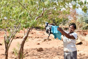 The Water Project: Ilandi Community -  Clothelines