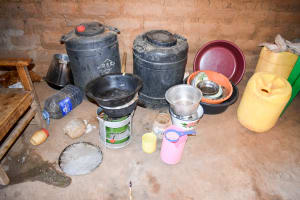 The Water Project: Kivani Community B -  Water Storage