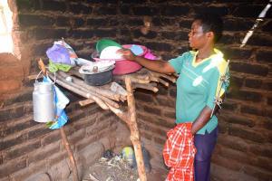 The Water Project: Syatu Community -  Drying Rack