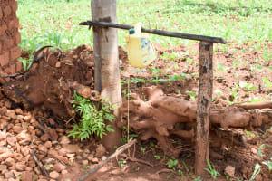 The Water Project: Mbuuni Community C -  Handwashing Station